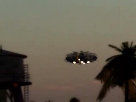 Ufoの背景にピントがあっている